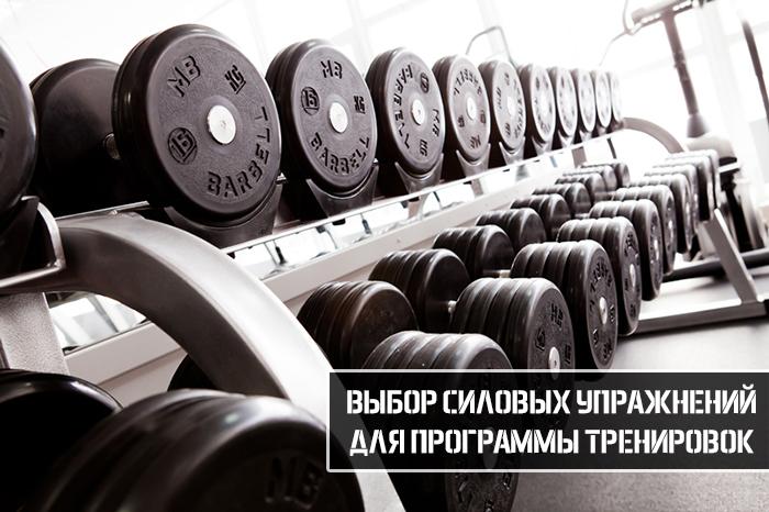 Выбор силовых упражнений